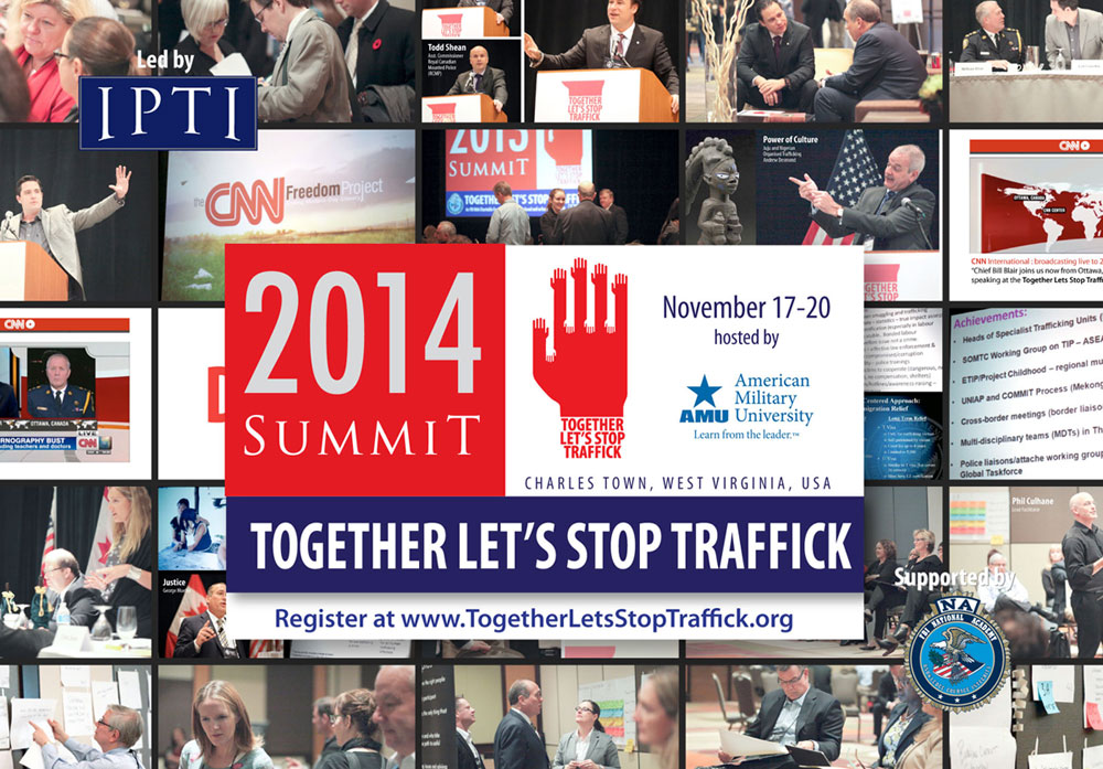 2014 Together Lets Stop Traffick Summit Ad